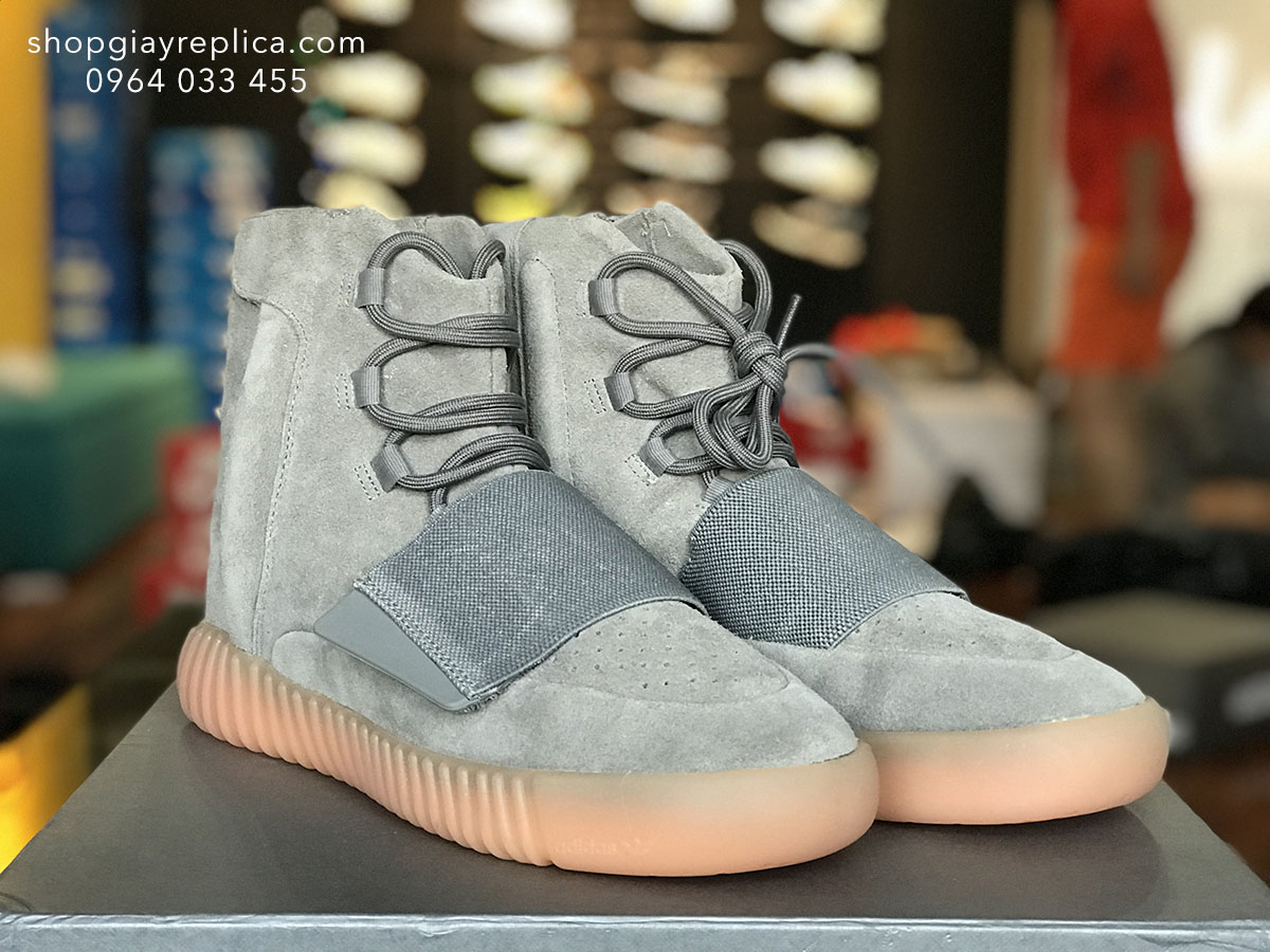 giày Adidas Yeezy Boost 750 light grey replica