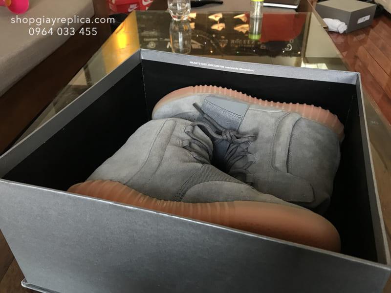 giày Adidas Yeezy Boost 750 light grey replica