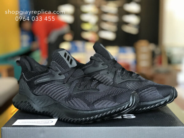 giày adidas alphabounce full black replica