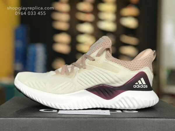 giày adidas alphabounce hồng trắng replica