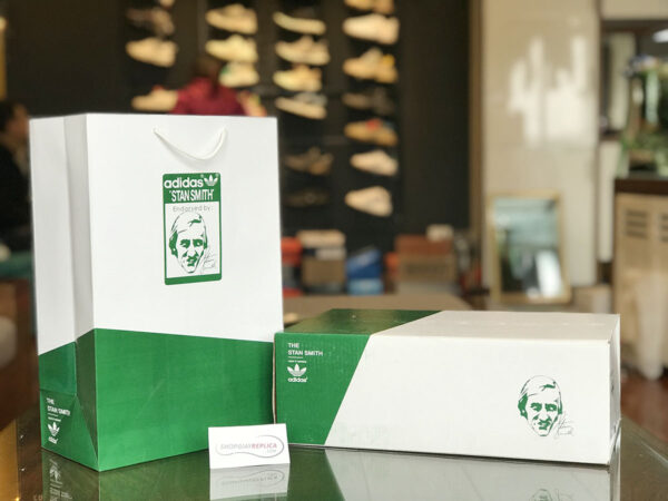 hộp adidas stan smith got xanh