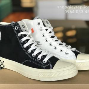 giày converse 1970s high off white replica
