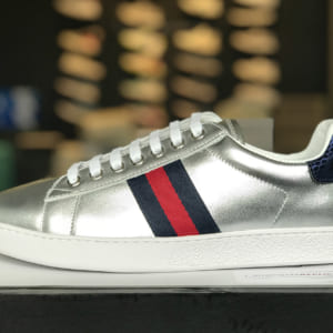 giày gucci sliver siêu cấp