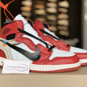 giay Nike Air Jordan 1 x Off-White replica