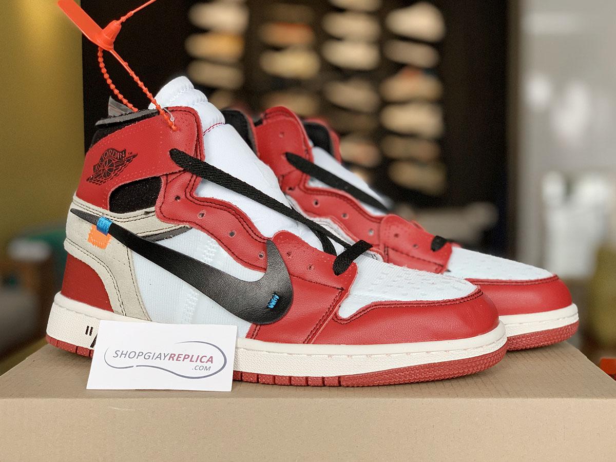 giay Nike Air Jordan 1 x Off-White replica