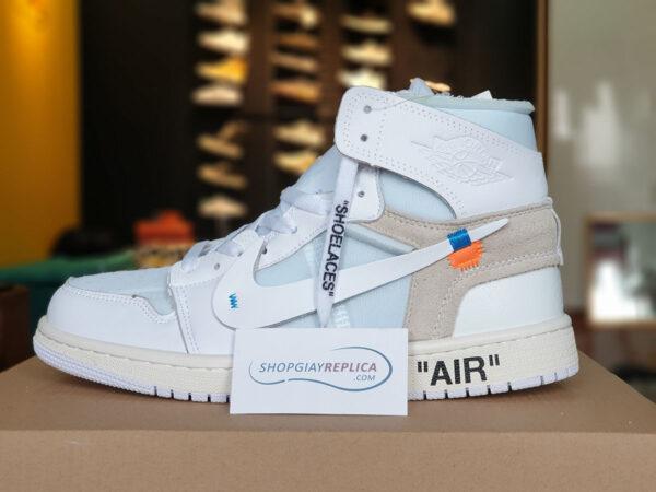 giày nike air jordan 1 nrg off white replica
