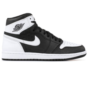 giày nike air jordan 1 retro high black white replica