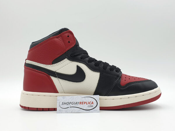giày nike jordan 1 black toe replica