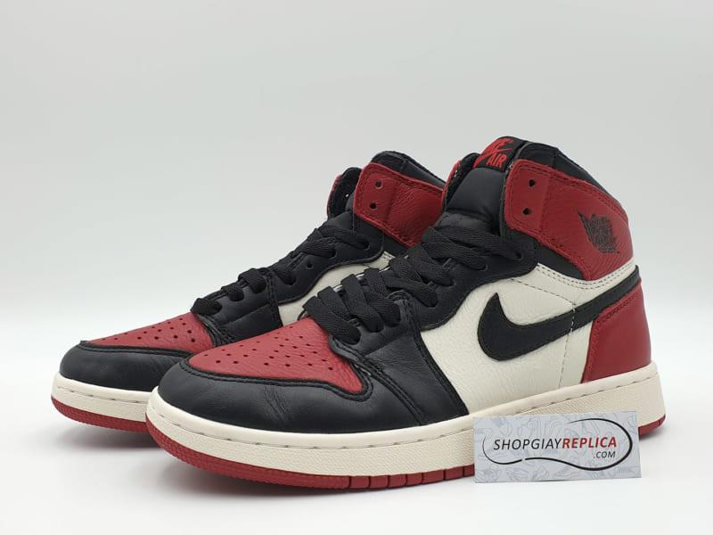giày nike jordan 1 black toe replica
