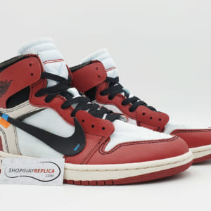 giay nike jordan 1 off white chicago replica