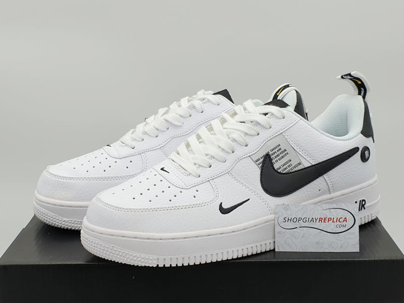 giay nike air force 1 07 ultility black replica