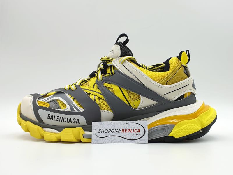 giày balenciaga track 3 yellow replica