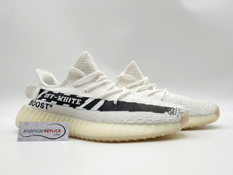 giày adidas yeezy 350 v2 x off white replica