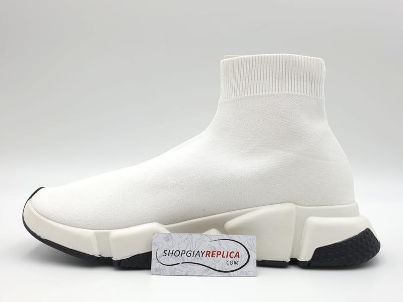 giày balenciaga speed trainer trang vien den replica