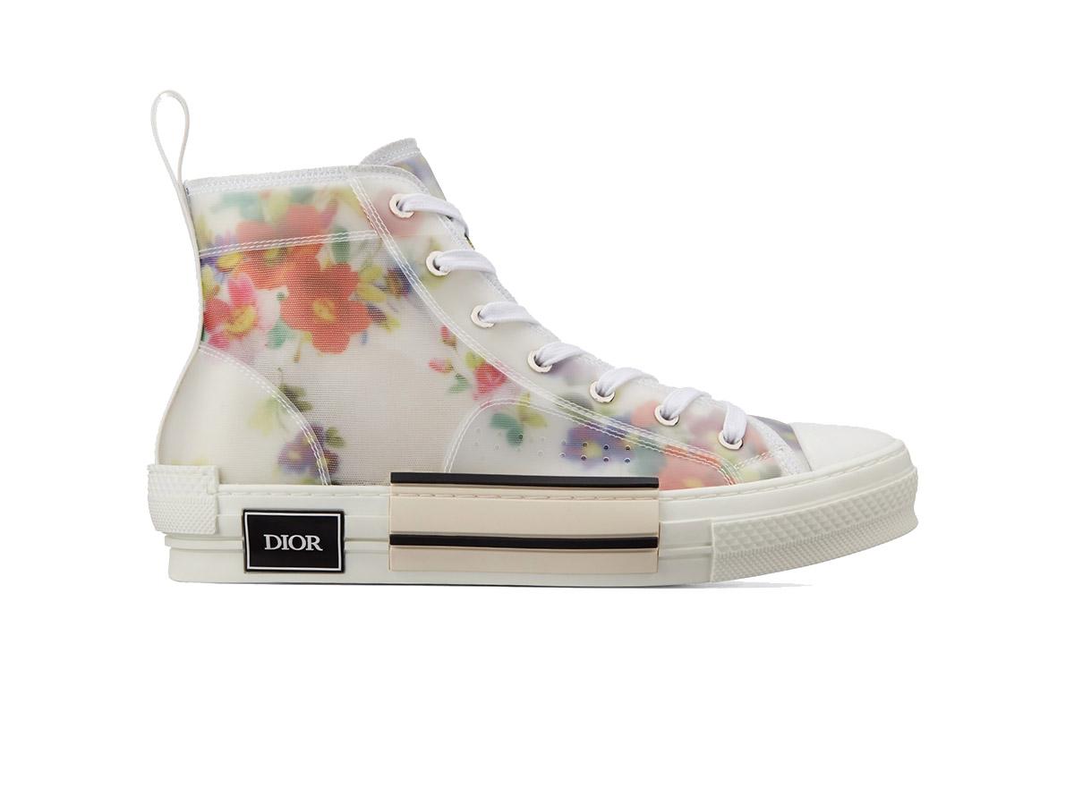 giày dior b23 FLOWERS high top siêu cấp