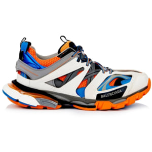 giày balenciaga track orange blue replica