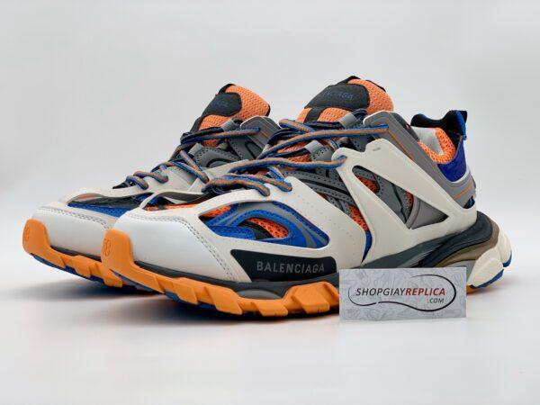 Giày Balenciaga Track 3.0 xanh cam replica