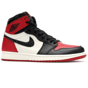 giày Nike Air Jordan 1 Retro High Og Bred Toe replica
