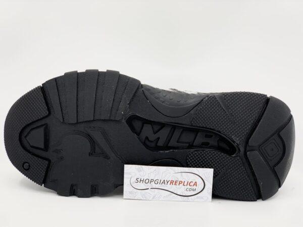 Giày MLB NY đen chữ trắng Replica