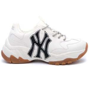 Giày MLB NY trắng chữ đen