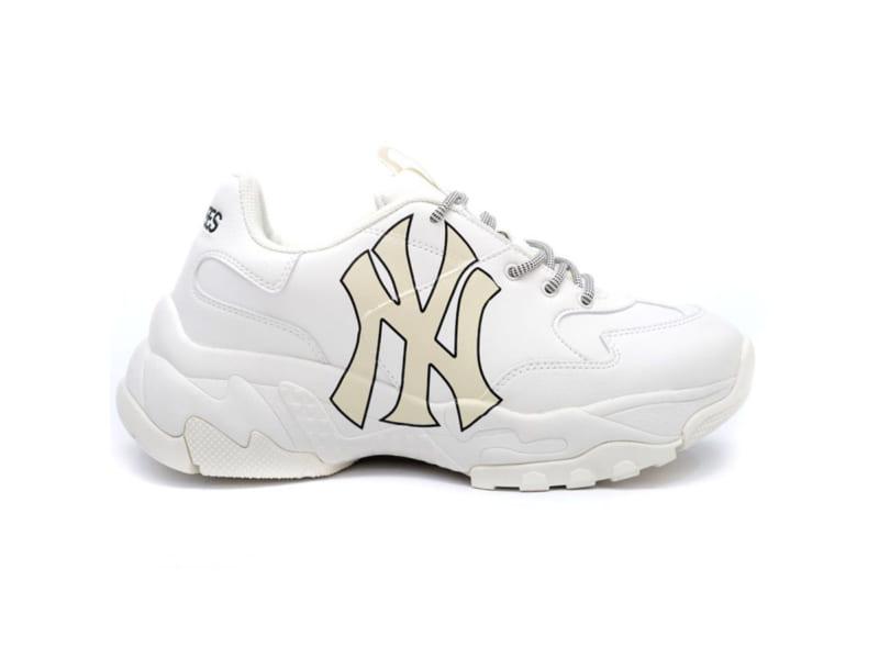 Giày MLB NY trắng