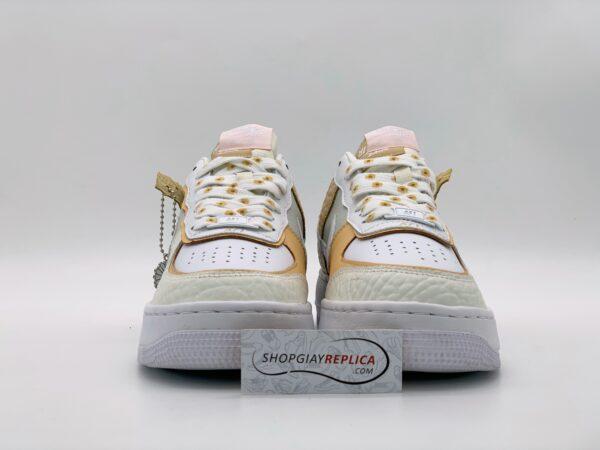 Giày Nike Air Force 1 Shadow 'Daisy' Spruce Aura Custom Replica 1:1