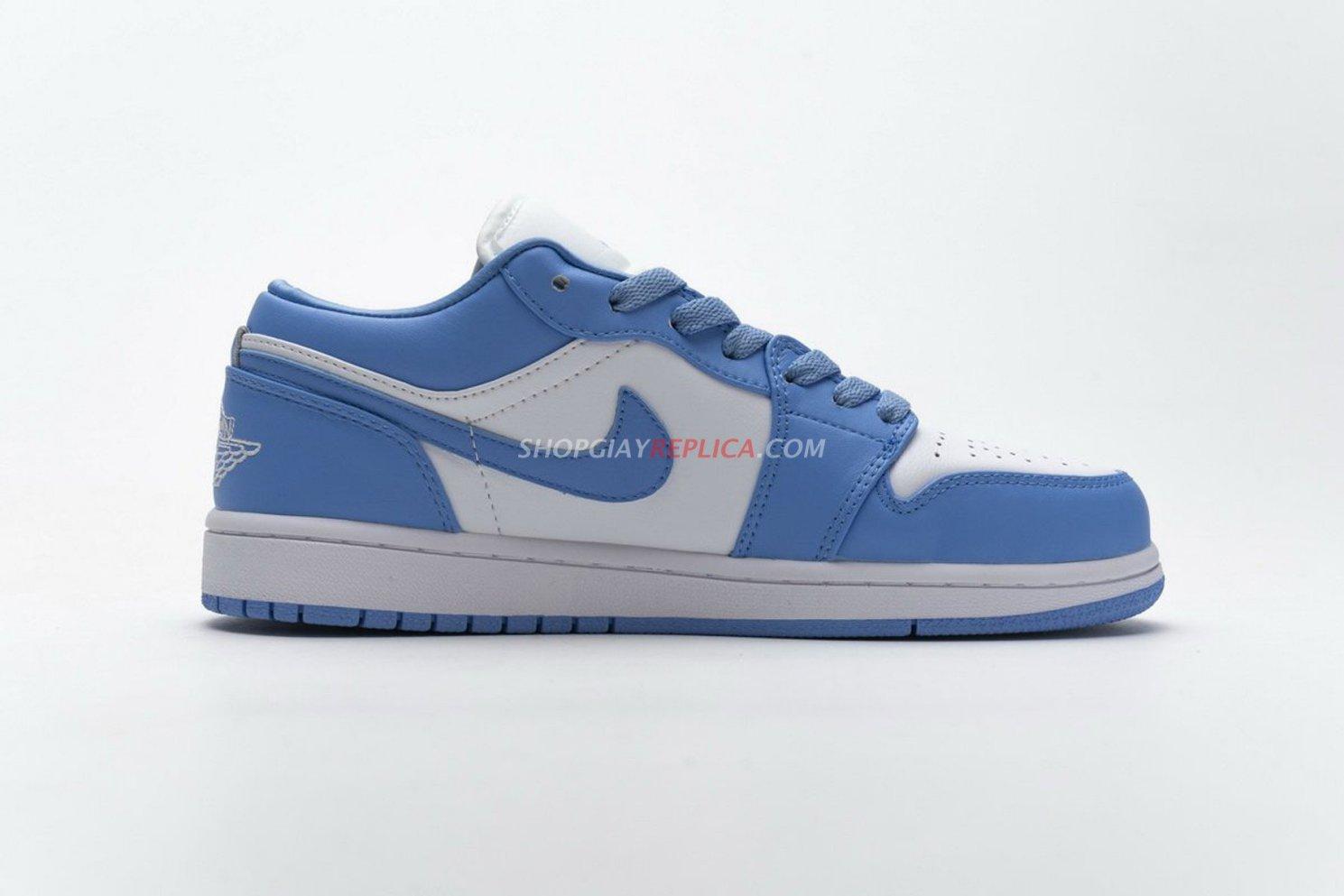 Giày Nike Air Jordan 1 Low UNC Rep 1:1