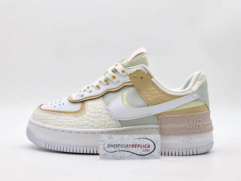 Nike Air Force 1 Shadow 'Daisy' Spruce Aura 11