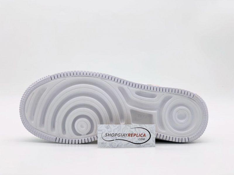Giày Nike Air Force 1 Shadow 'Daisy' Spruce Aura Custom