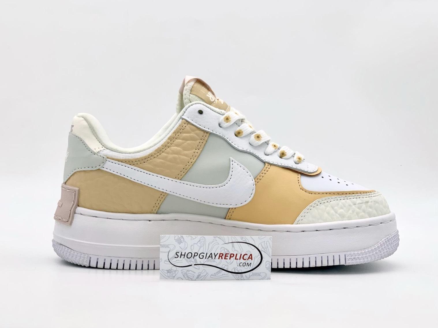 Giày Nike AF1 Shadow 'Daisy' Spruce Aura