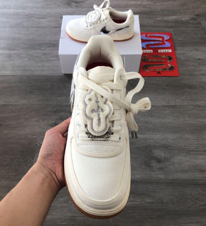 giày Nike Air Force 1 Low Travis Scott Sail