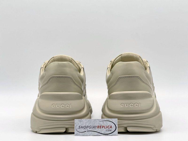 Gót Giày Gucci Rhyton Leather Sneaker