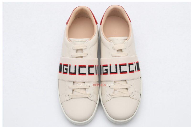 Giày Gucci Stripe Like Auth