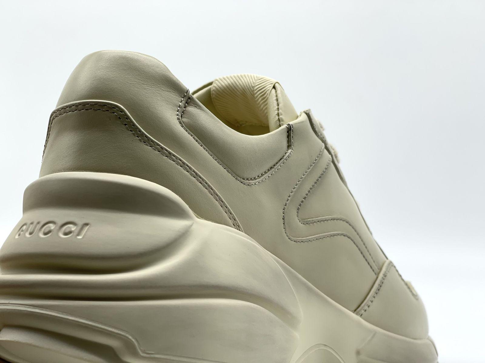 Giày Gucci Rhyton Leather da trơn bản bẩn