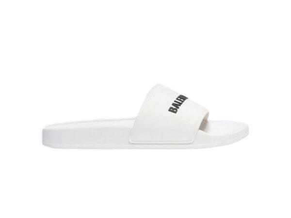 Dép Balenciaga Pool Slide White Replica