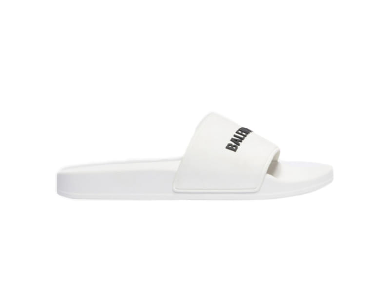 Dép Balenciaga Pool Slide White Replica