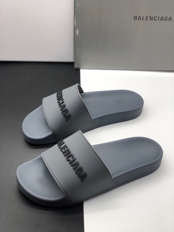 Dép Balenciaga Pool Slide Gray Replica
