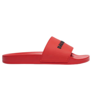 Dép Balenciaga Pool Slide Red Replica