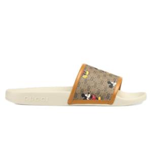 Dép Gucci x Disney Slide White Replica