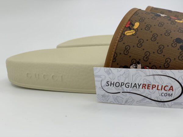 Dép Gucci x Disney Slide White siêu cấp
