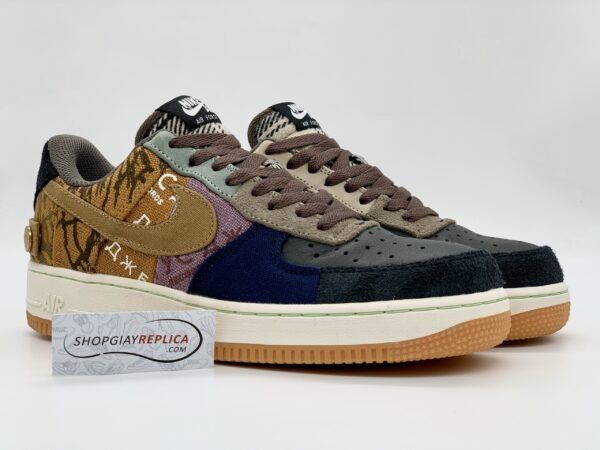 Giày Nike Air Force 1 Low Travis Scott Cactus Jack siêu cấp