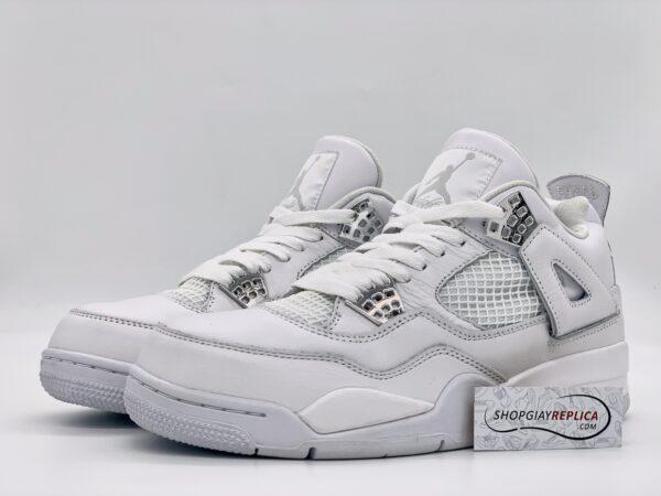 Giày Nike Air Jordan 4 full trắng Replica
