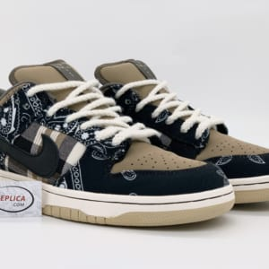 Giày Nike SB Dunk Low Travis Scott Replica 1:1