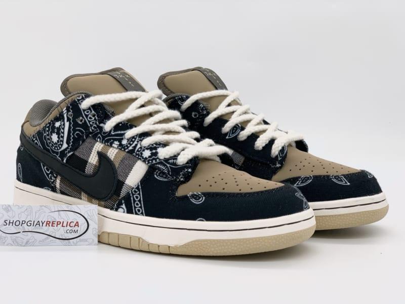 Giày Nike SB Dunk Low Travis Scott Replica 1:1