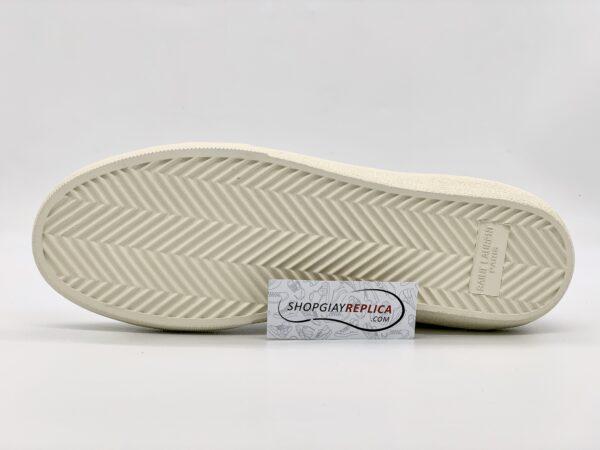 Giày Saint Laurent Court Classic trắng siêu cấp