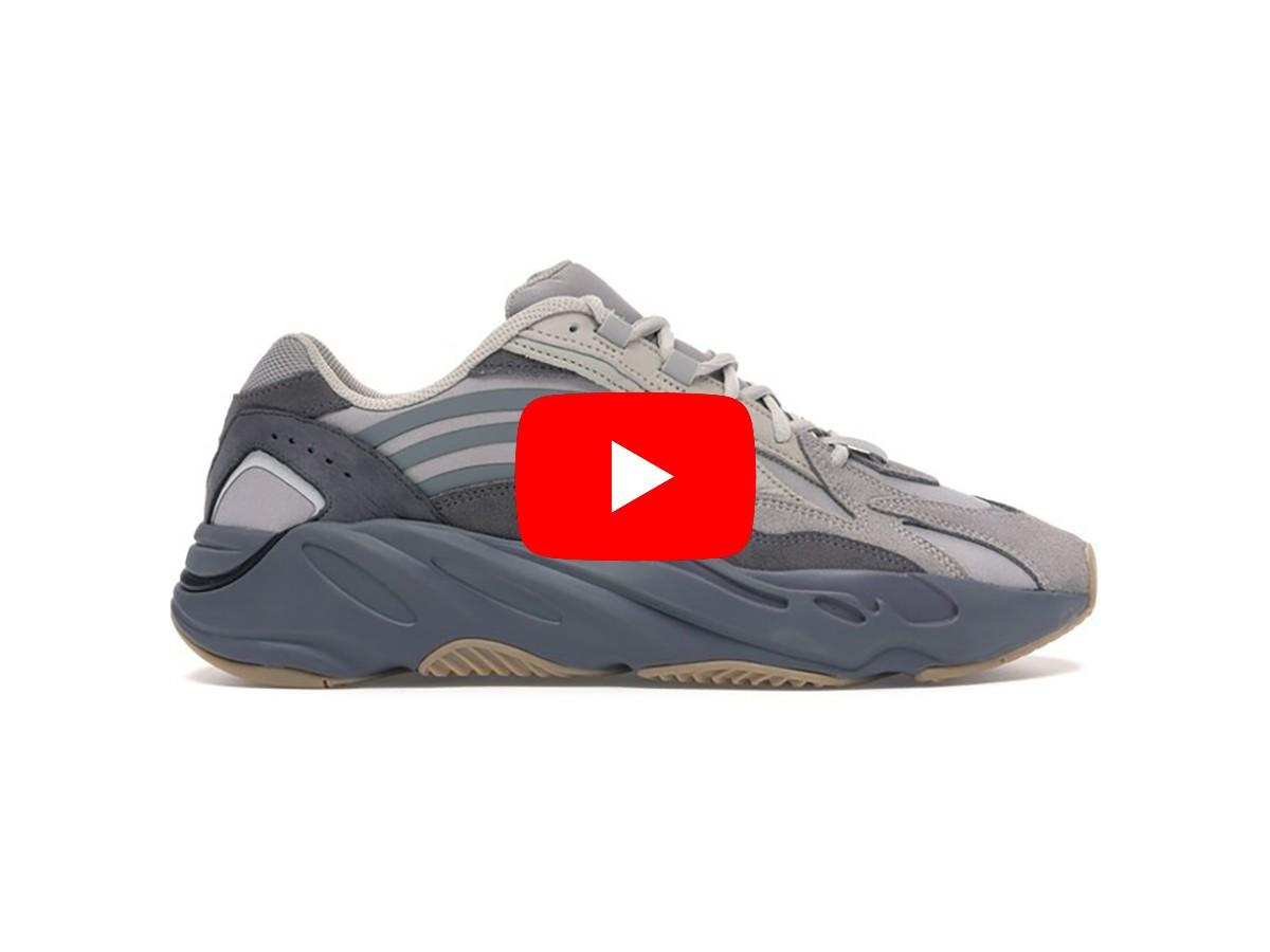 Unbox giày yeezy 700 v2 tephra replica