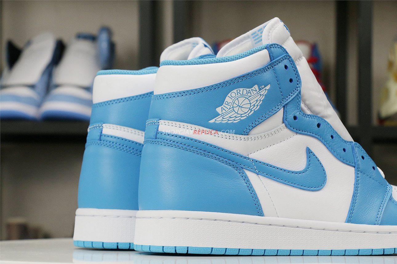 giày Nike Air Jordan 1 Retro High UNC rep 1:1