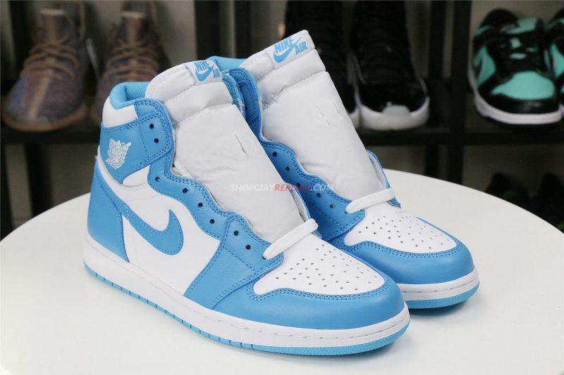 giày jordan xanh