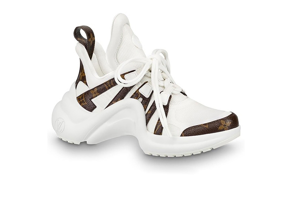 Giày Louis Vuitton Archlight Trainer Monogram White Siêu Cấp