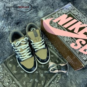 giày nike sb dunk travis scott replcia